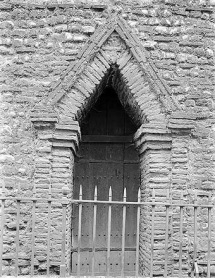 Description: The Romans introduced brick to Britain, but it ceased to be made when they left. Roman brick was, however, reused in numbers of late Saxon buildings, such as the west doorway of Holy Trinity church, Colchester, which had been a major Roman town.
